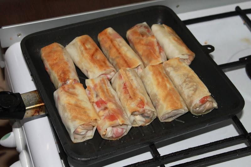Spring rolls 14