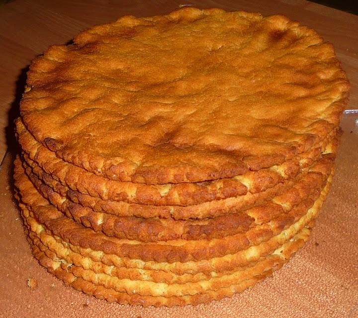 Medaus tortas 2